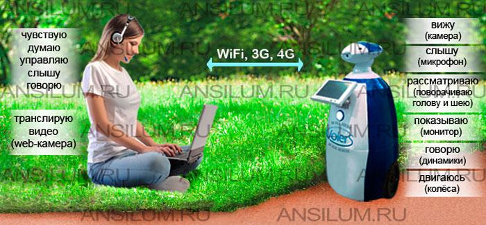 Рекламные роботы