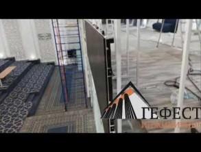 Команда Гефест Проекции произвела поставку светодиодного экрана 30 кВ.м.