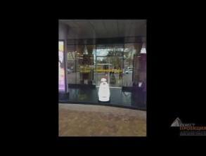 """Компания Гефест Проекция предоставила в аренду робота для ТЦ """"Мелодия"""" г.Сочи."""