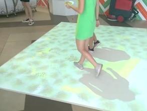 Интерактивный пол IF3 в международный детский лагерь АРТЭК