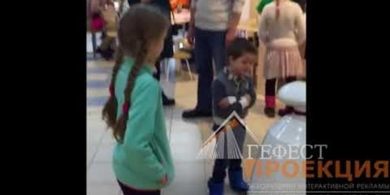 Интерактивный детский стол и робот rBot в аренду на мероприятие «Дети наше будущее» в Йошкар Оле в рамках ТПП.