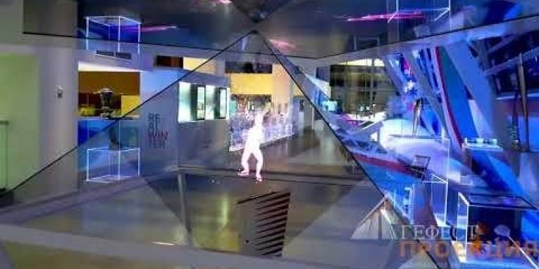 Команда Гефест Выполнила застройку музея Зимней Универсиады 2019 в Красноярске.