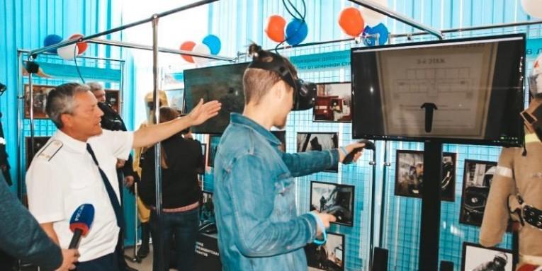 Компания «Гефест Проекция» произвела интерактивное оснащения музея пожарно-спасательной службы в Новосибирске.