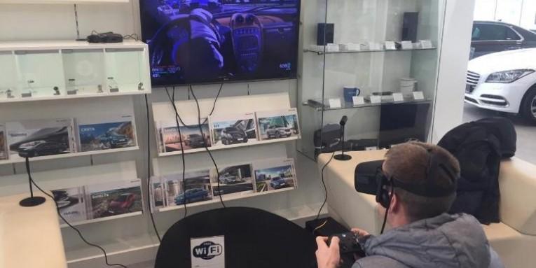Компания «Гефест Проекция» предоставила на 23 февраля в аренду очки виртуальной реальности