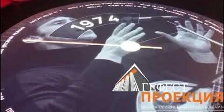 Комплексное оснащение гологарафией, интерактивном, проекцией дома музей Высоцкого.
