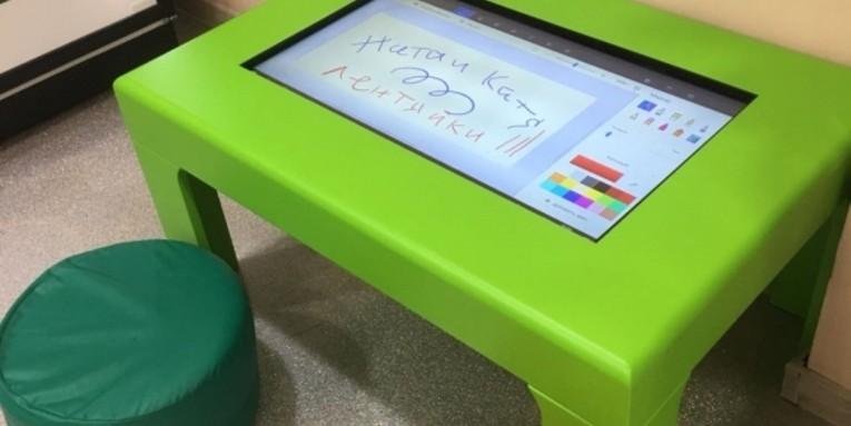 Детский интерактивный стол 32' для Астрон