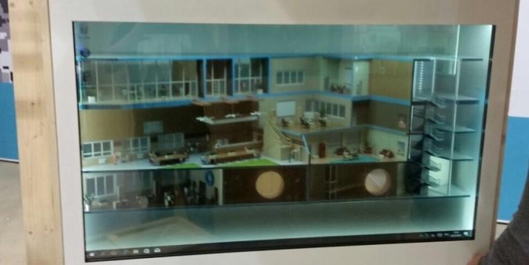 Прозрачные матрицы в рамках комплексной инсталляции. Поставка, производство и монтаж - Гефест Проекция. В наличии на складе в Москве.