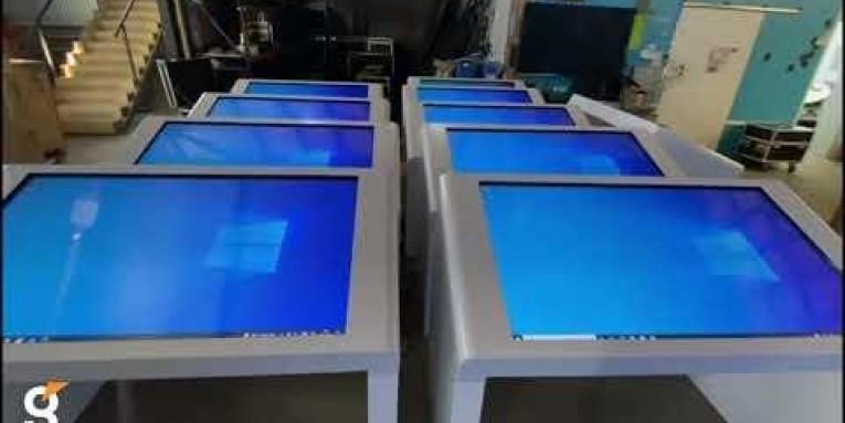 Поставка интерактивных столов