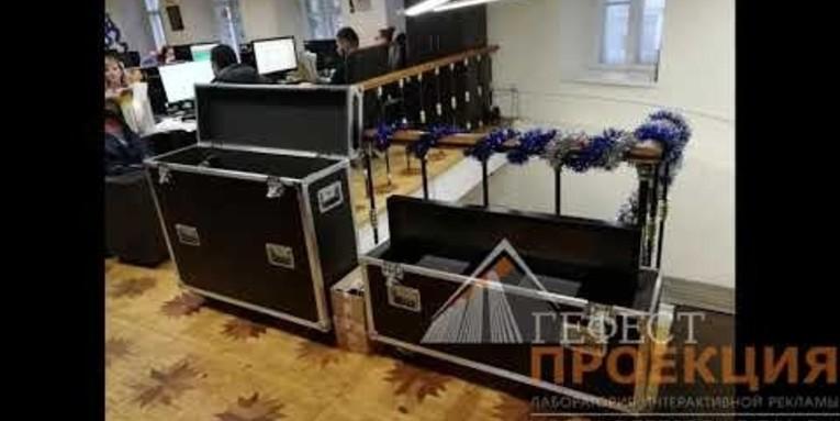 Компания Гефест Проекция произвела поставку сенсорного дисплея IIyama , 42 дюйма.
