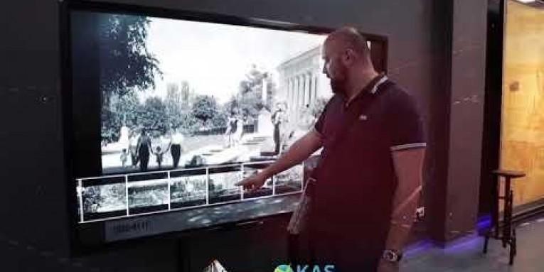 Запуск музея генплана г. Алматы